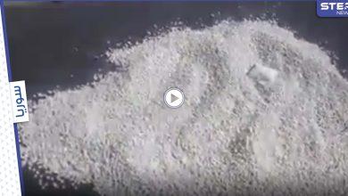 بالفيديو|| ملايين الحبوب المخدرة ملقاة بجانب أوتوستراد حمص دمشق.. والإعلام السوري يوضح