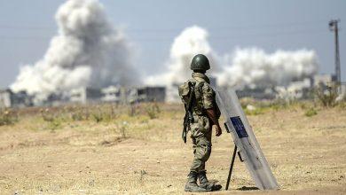 "مقتل جندي تركي بقصفٍ لـ ""قسد"" استهدف قاعدة ""تويس"" شمالي حلب"
