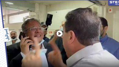 بالفيديو|| عراك بالأيدي بين نائبين بالكنيست الإسرائيلي يهودي متشدد وعربي أمام أسير يواجه الموت