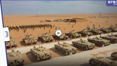 بالفيديو   قاذفات صواريخ كورية شمالية نادرة بليبيا قبيل مؤتمر دولي هو الأول منذ سقوط القذافي