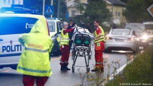 هجمات مسلّحة توقع قتلى والشرطة النرويجية تلقي القبض على مشتبهٍ به