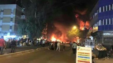 انفجار دراجة نارية في منطقة الكسرة بالعاصمة العراقية بغداد يوقع جريحين والسلطات تتحرك