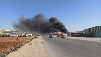 بالفيديو|| النظام السوري يقصف الشريان الاقتصادي لإدلب وريفها ويوقع قتلى وجرحى