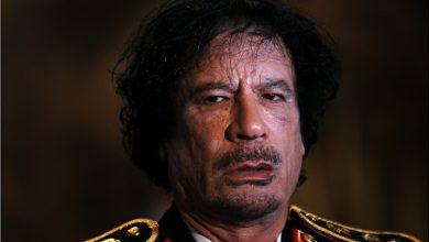 آخر ما قاله القذافي في تسجيلٍ صوتي يوم مقتله عام 2011